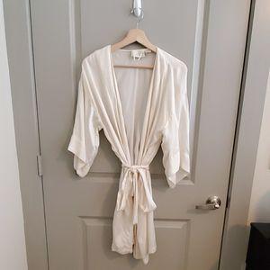 Vintage Victoria Secret Silk Robe